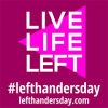 August 13, 2018 International Left Handers Day