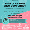 November 7, 2018 Kombucha Home Brewing Contest