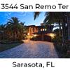 REAL Web Blast 3544 San Remo Terrace Sarasota FL
