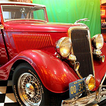 1934 Custome Ford Convertible For Sale