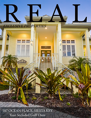 REAL Exclusive Magazine Featuring 107 Ocean Place - Cover Photo 410