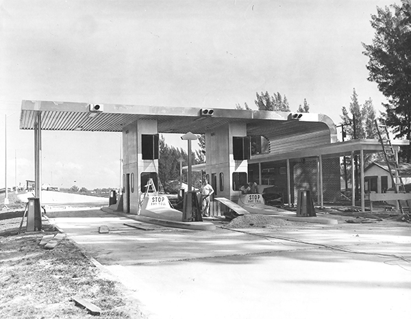 Cortez Bridge Toll Plaza