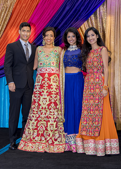 Shubi, Poonam, Shamini and Sheena Maini