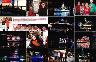 Sarasota Holiday Boat Parade of LIGHTS Benefiting Suncoast Charities For Children