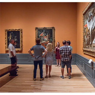 The Ringling Gallery Walk and Talk