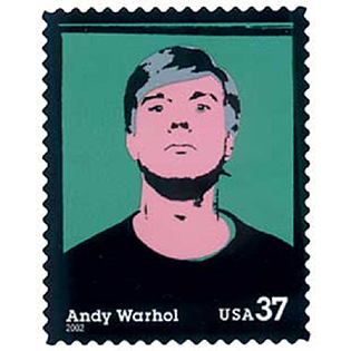 Andy Warhol Stamp