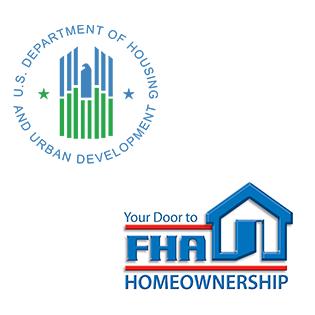 HUD FHA logos