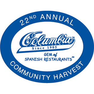 Columbia Restaurant 22nd Community Harvest