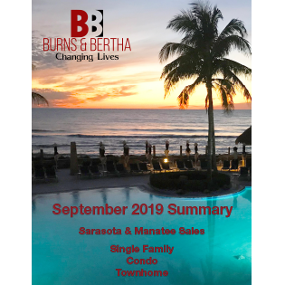 2019 September real Estate Sales In Sarasota Manatee