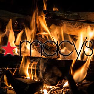 Macy's Logo On Fire