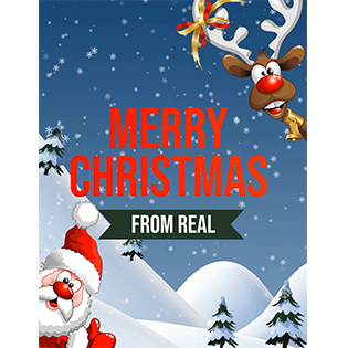 Merry Christmas from REAL Exclusive Magazine